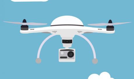 constat par drone sur lyon